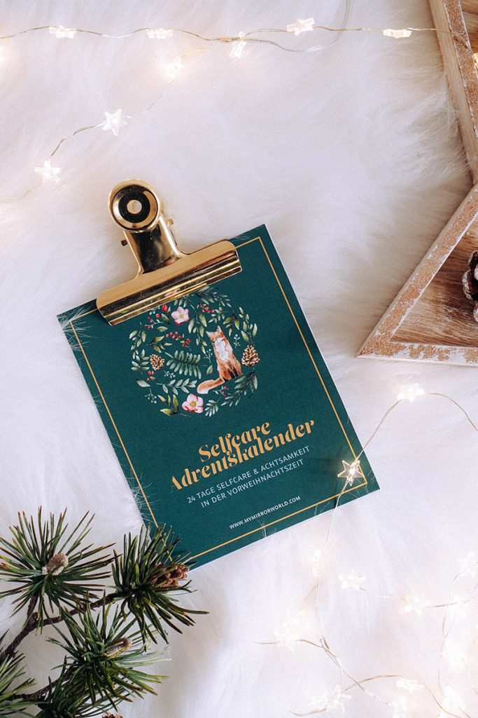 DIY Selfcare Adventkalender