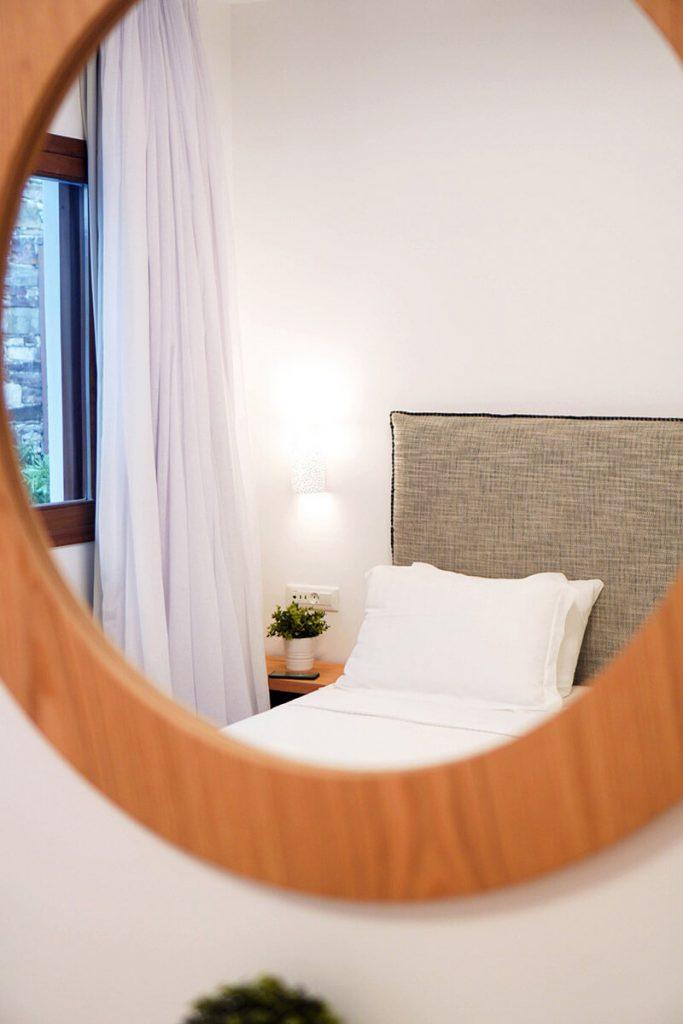 Die griechische Insel Skopelos. Das Hotel Natura Boutique in Loutraki