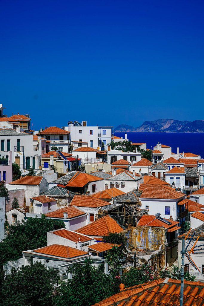 Unbekanntes Griechenland: Skopelos Stadt und die Insel Skopelos