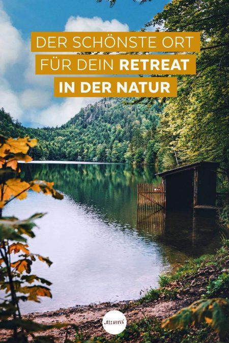 Der schönste Ort für ein Retreat in der Natur. Bewusst genießen in Bad Ischl.